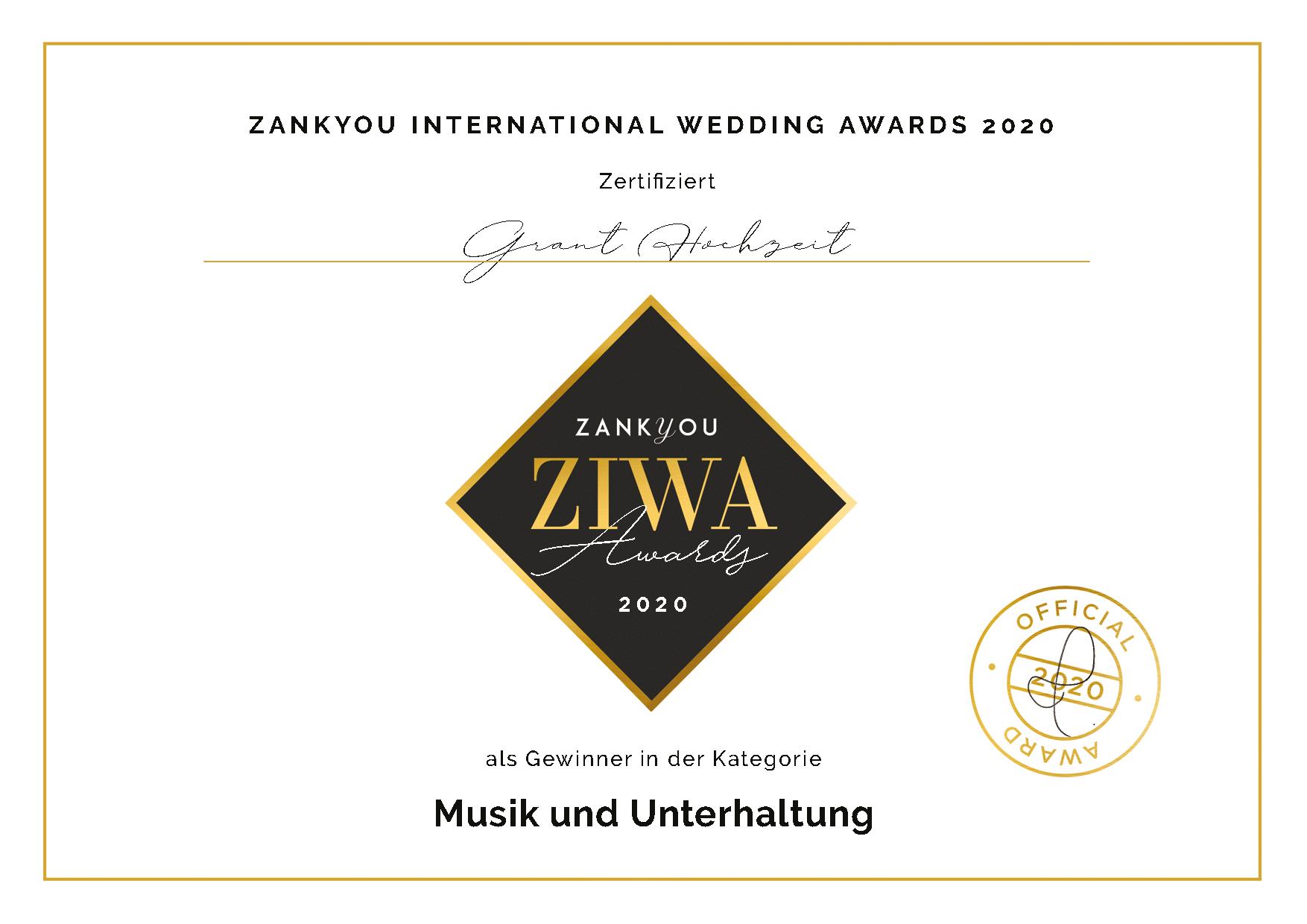 Ziwa Award 2020